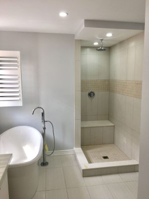 Bathroom renovation for Carlos Alarcon