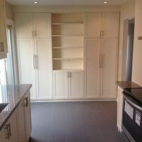 custom kitchen cabinets / wall unit