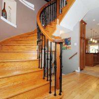 Custom circular staircase