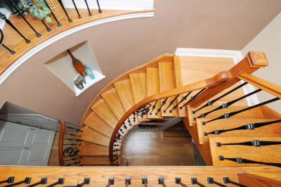 Home Remodeling - Custom circular staircase
